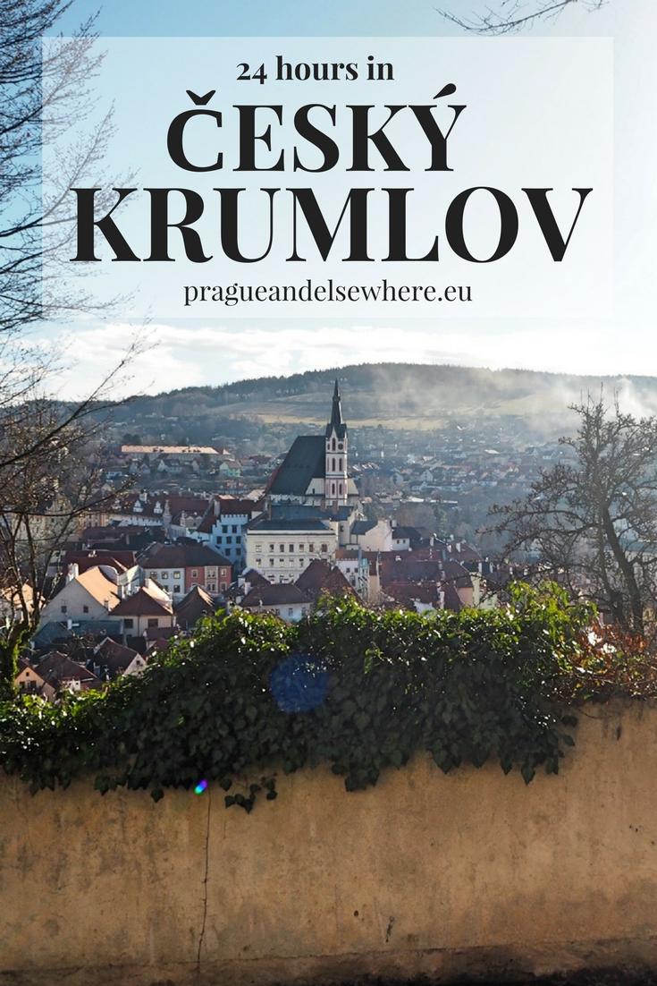 24 hours in Cesky Krumlov