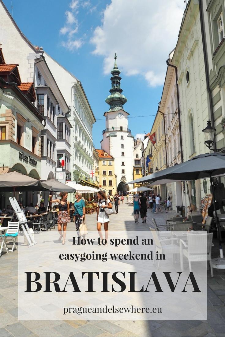 Weekend in Bratislava