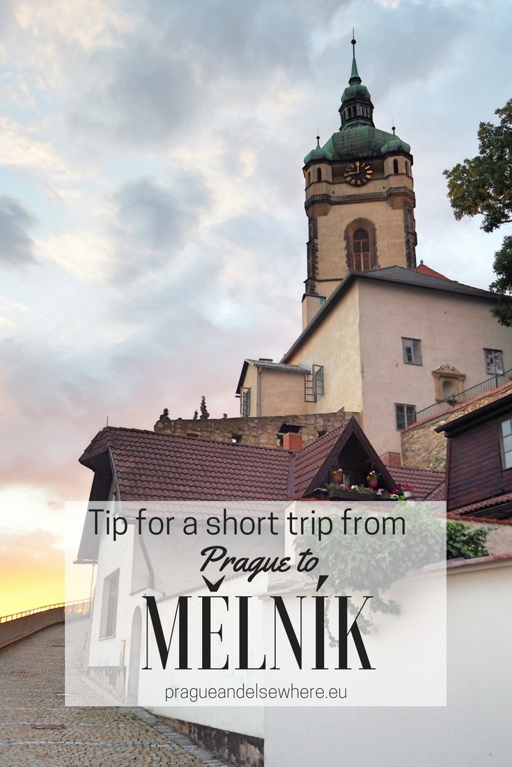 Tip for a short trip from Prague to Mělník. Czech Republic