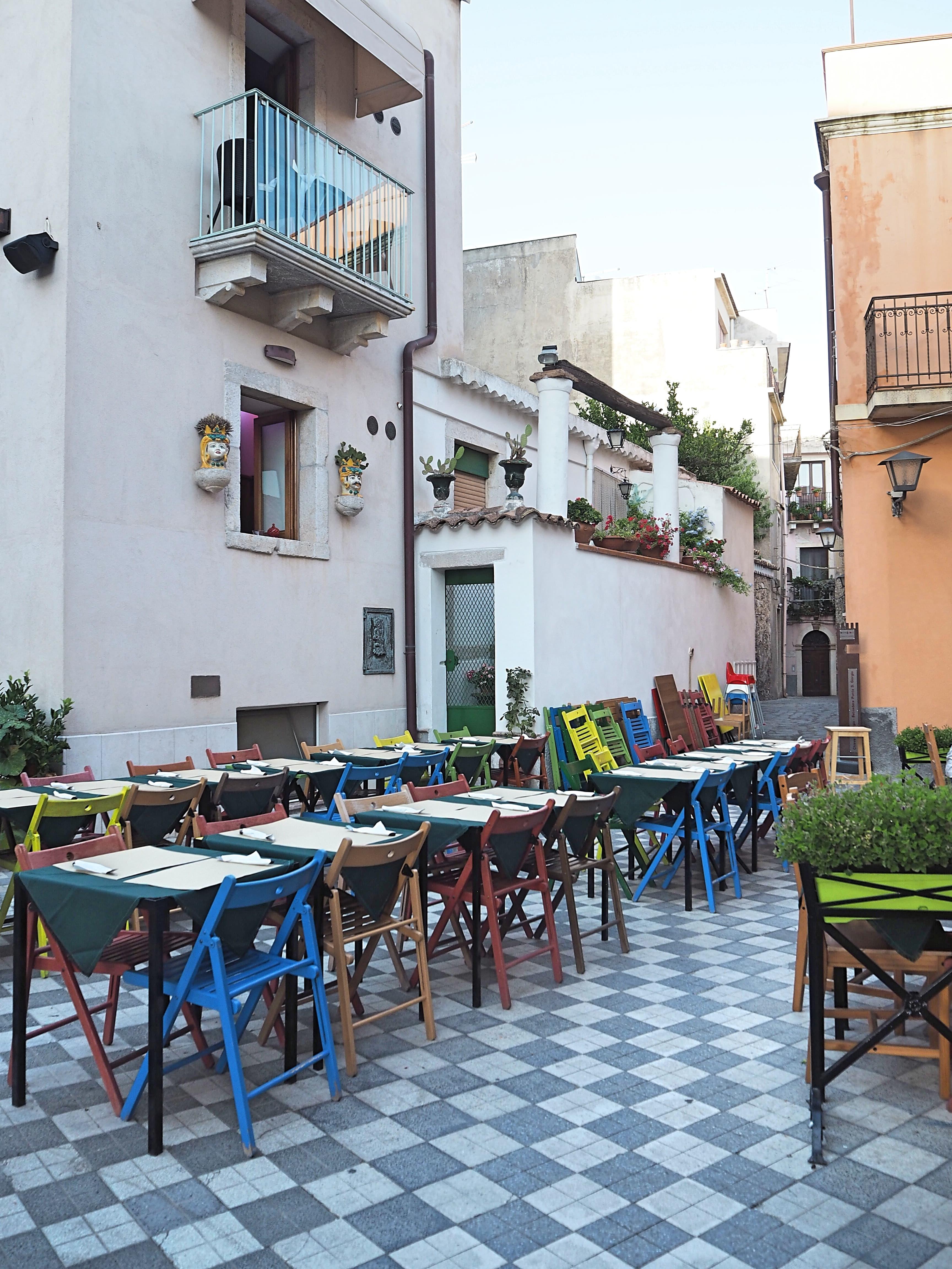 Castelmola streets