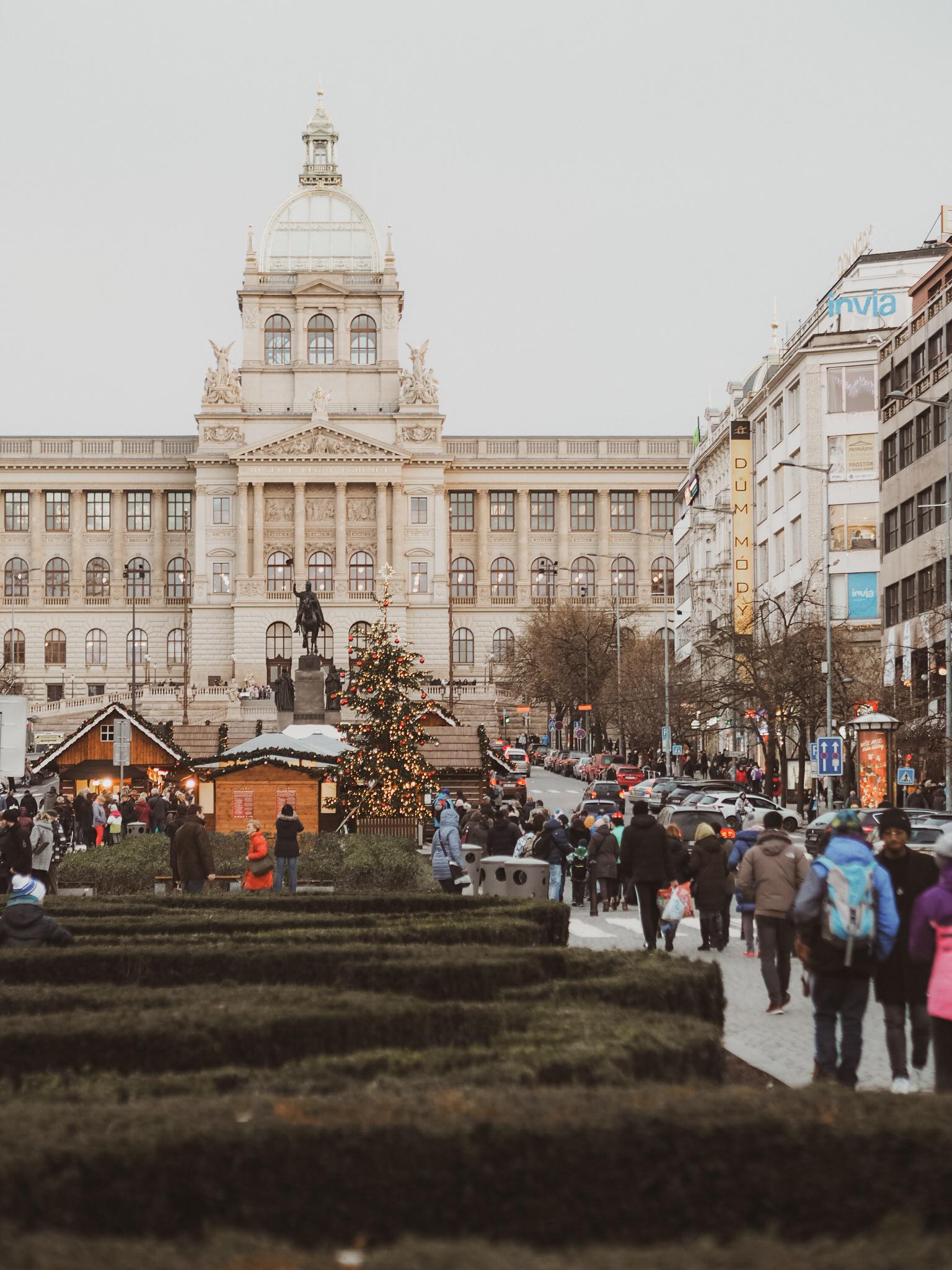 Christmas photoshoot Prague