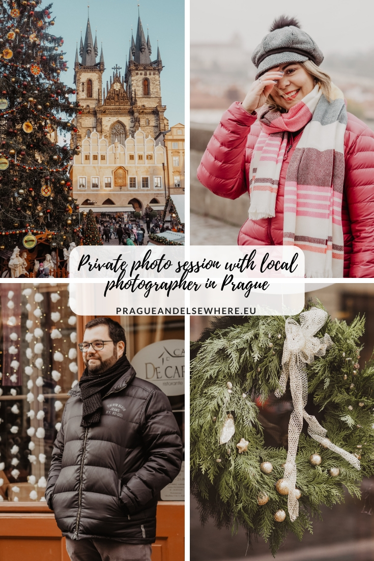 Winter photoshoot Prague