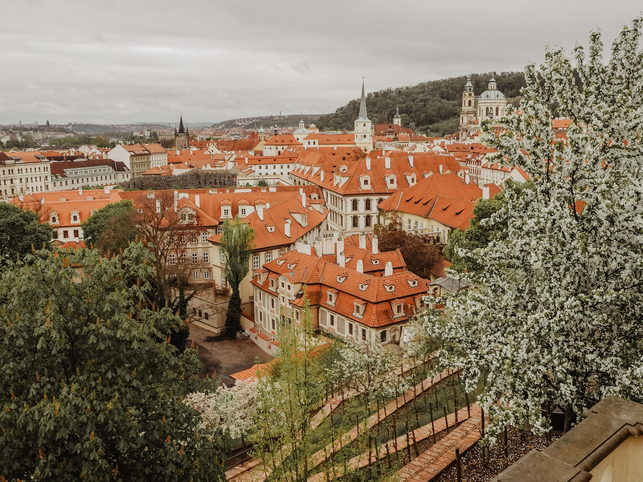Gardens Prague Castle Prague Spring