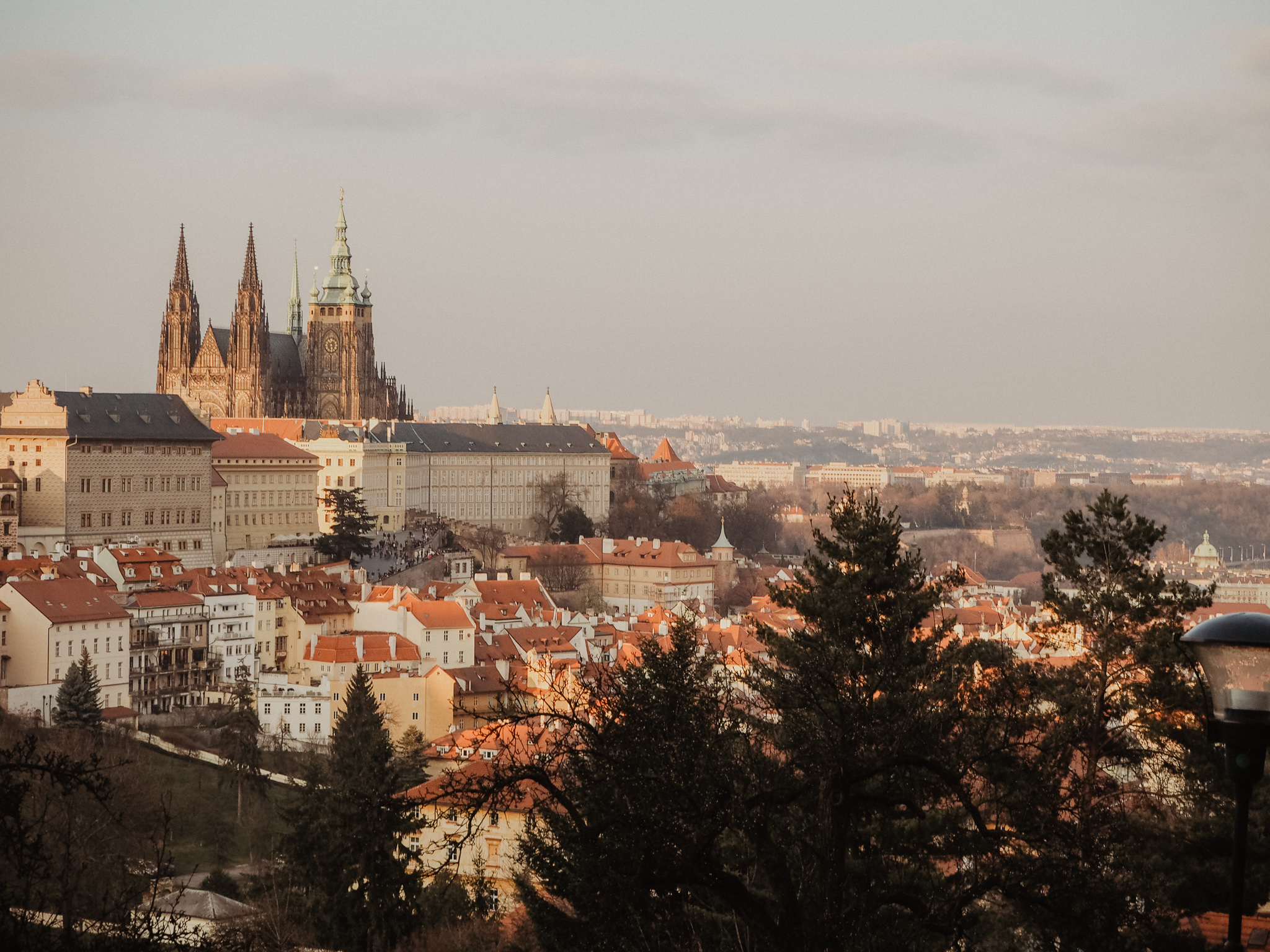 Top Prague views